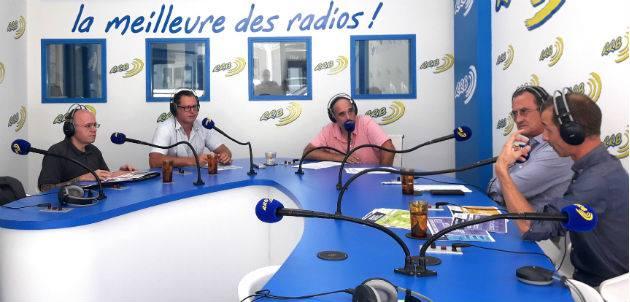 Ludovic Danteny, spécialiste webmarketing à Nouméa, au micro de RRB